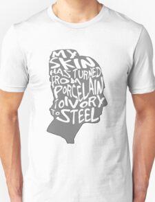 porcelain ivory steel T-Shirt