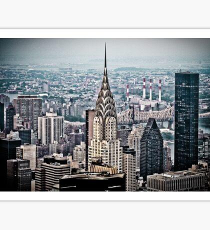 Chrysler Building New York Sticker