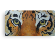 Tiger-The Last Stare-TigerTLS-001 Canvas Print
