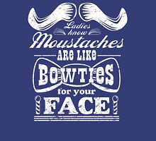 Moustaches: Bowties for Your Face Unisex T-Shirt