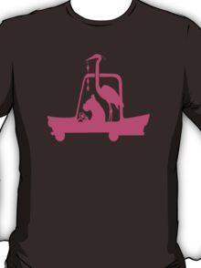 Boxer at the Wheel T-Shirt