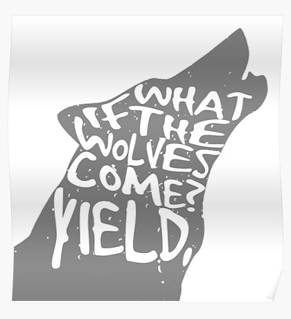 what if the wolves come? Poster