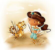 Princess Jasmine by CodiBear8383