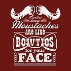 Moustaches: Bowties for Your Face by AndreeDesign