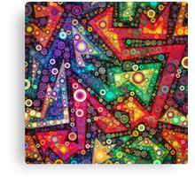 Bubble Maze  Canvas Print