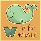 W is for Whale by CodiBear8383