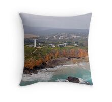 Split Point Lighthouse, Aireys Inlet 130106 02 Throw Pillow