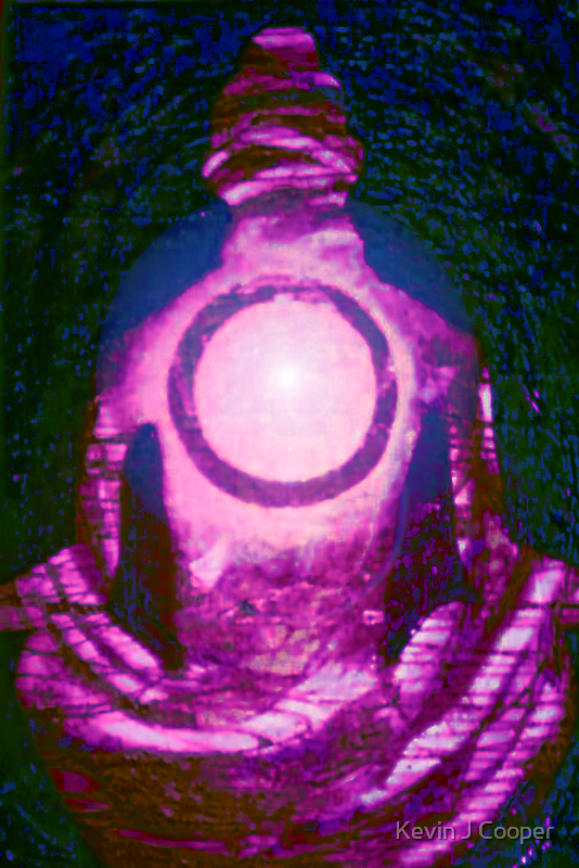 """Sun Center - Illuminated"" by Kevin J Cooper"