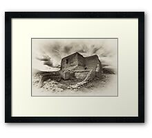 Old Pecos Framed Print