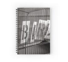 Bird Cage Spiral Notebook