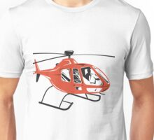 Helicopter Chopper Retro  Unisex T-Shirt