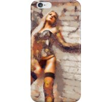 In the style of Klimt by Mary Bassett iPhone Case/Skin
