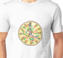 Pizza Pie Clock  Unisex T-Shirt