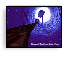 'Bluey's Father'  Canvas Print