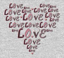 Pink Heart  small by LoveLineAttire
