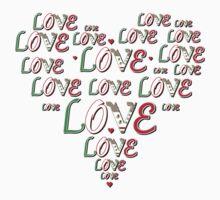 Love Heart Mexican full by LoveLineAttire