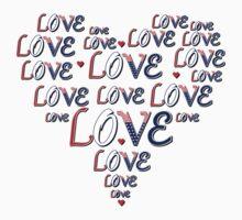 Love Heart American full by LoveLineAttire