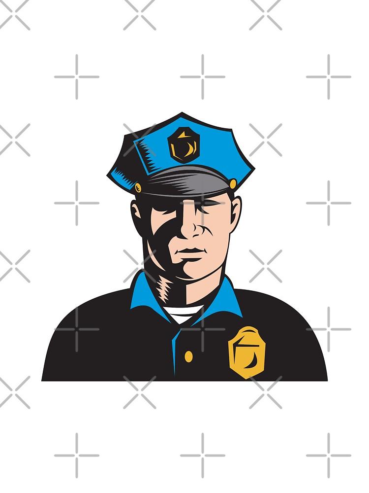 Policeman Police Officer   by patrimonio