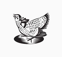 Prairie Chicken Hen Retro  Unisex T-Shirt
