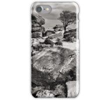 Holwell Tor on Dartmoor iPhone Case/Skin