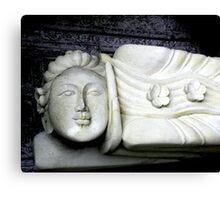 Asian Statuary Canvas Print