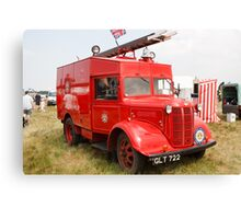 1941 Austin ATV Fire Appliance (GLT 722) Canvas Print