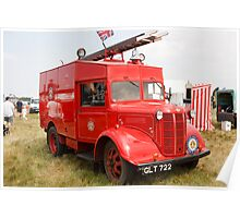 1941 Austin ATV Fire Appliance (GLT 722) Poster