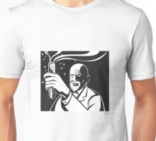 Crazy Mad Scientist Test Tube  Unisex T-Shirt
