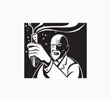 Crazy Mad Scientist Test Tube  Unisex T-Shirt