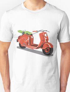 Vintage Motor Scooter Retro  Unisex T-Shirt