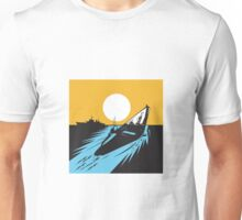 Submarine Boat Retro  Unisex T-Shirt