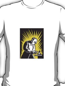 Welder Metal Worker Welding Retro   T-Shirt