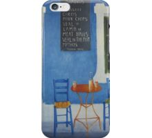 Table For Two Mykonos Greece iPhone Case/Skin