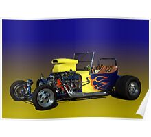 1923 Ford Bucket T Hot Rod Poster