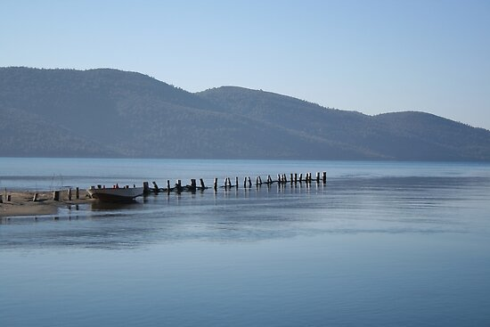 The Blue Hues of Akyaka Bay and Beyond by taiche