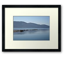 The Blue Hues of Akyaka Bay and Beyond Framed Print