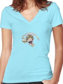 Adventure!! Women's Fitted V-Neck T-Shirt