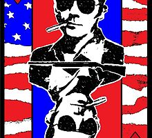 Hunter.S.Thompson. The Playing Card. by brett66