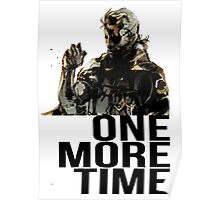 Metal Gear Solid - One More Time Poster