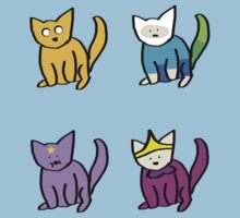Adventure Time Kitties! (No text) T-Shirt