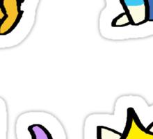 Adventure Time Kitties! (No text) Sticker