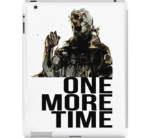 Metal Gear Solid - One More Time iPad Case/Skin