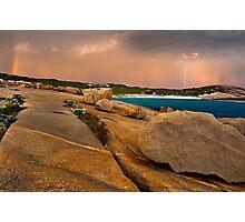Storm over Salmon Beach - Esperance Photographic Print