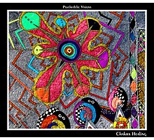 Chakra Healing Black Ligth Photographic Print