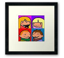 Cooper Kids Character Portrait Framed Print
