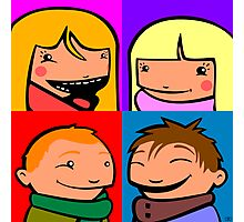 Cooper Kids Character Portrait Photographic Print