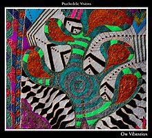 Om Vibration Black Ligth by MonicaDias