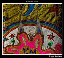 Happy Rainbow Black Ligth by MonicaDias