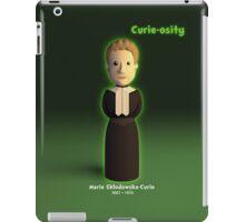 Marie Sklodowska-Curie - Curie-osity iPad Case/Skin