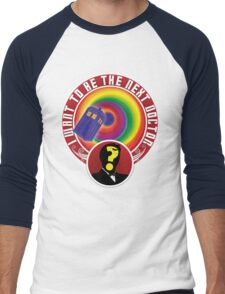 The Next Doctor Men's Baseball ¾ T-Shirt